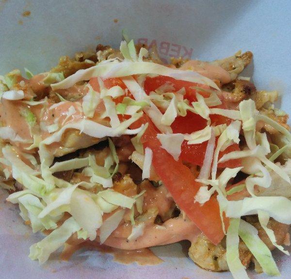 kebab box j原宿 チキンケバブ画像