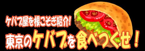 ケバブ屋を根こそぎ紹介!東京のケバブを食べつくせ!