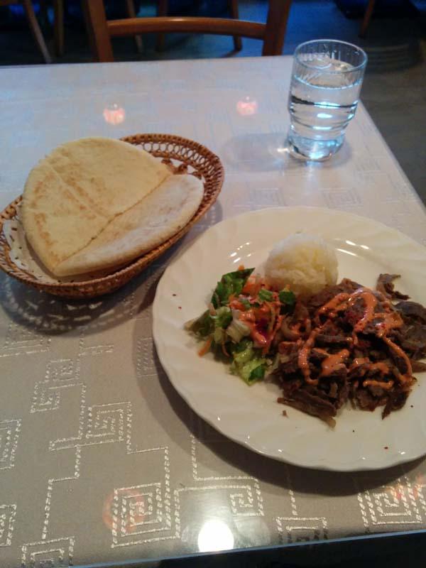 トルコレストランサライ 渋谷店 ケバブとピタパン