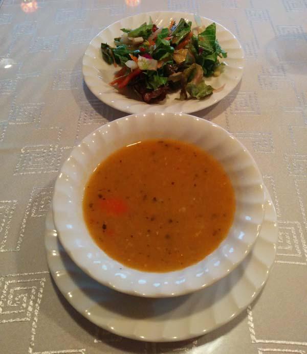 トルコレストランサライ 渋谷店 スープと前菜