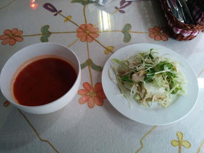 カッパドキア 下北沢 サラダとスープ