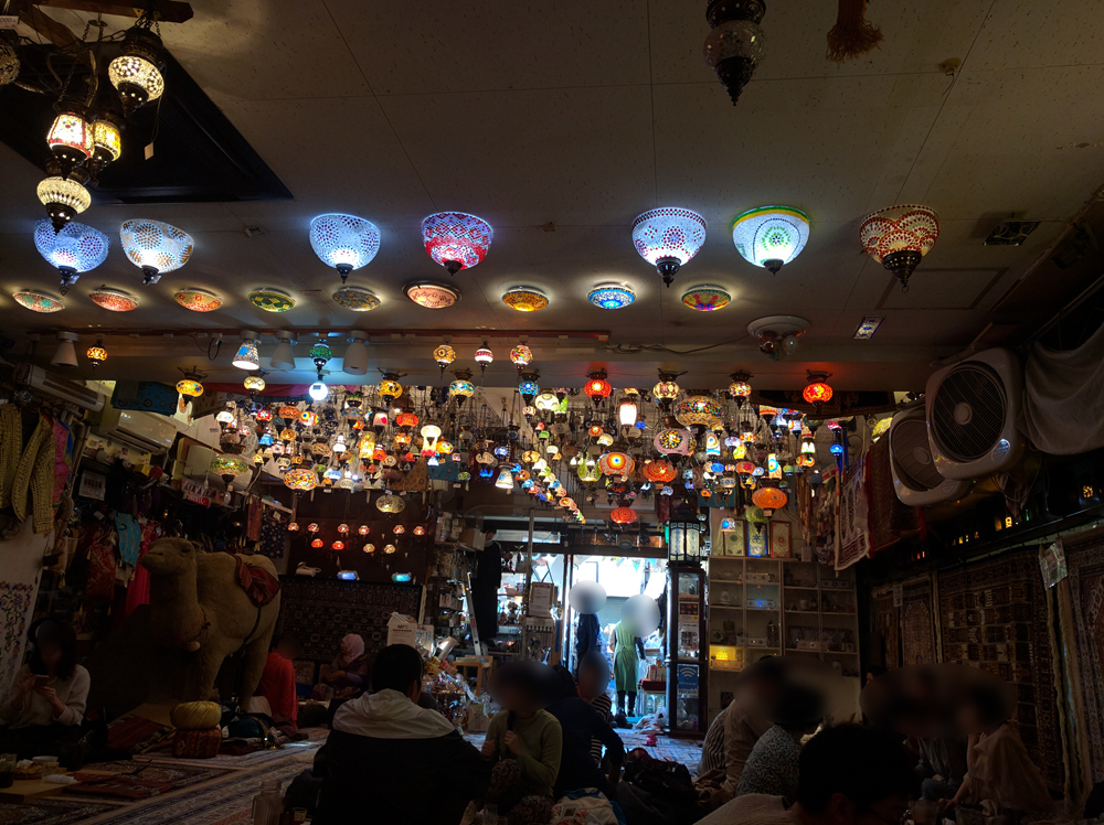 レストランザクロ 日暮里トルコ料理屋 (3)