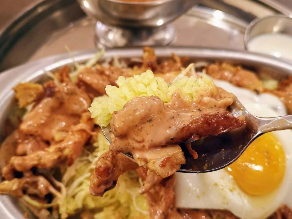 ターリー屋 中野サンモール店 チキンケバブキーマライス定食
