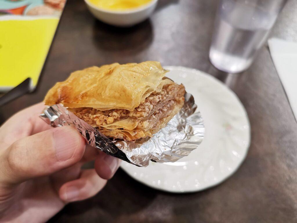 神楽坂 アラビックカフェ & デリ アブイサームのバクラヴァの写真 (4)
